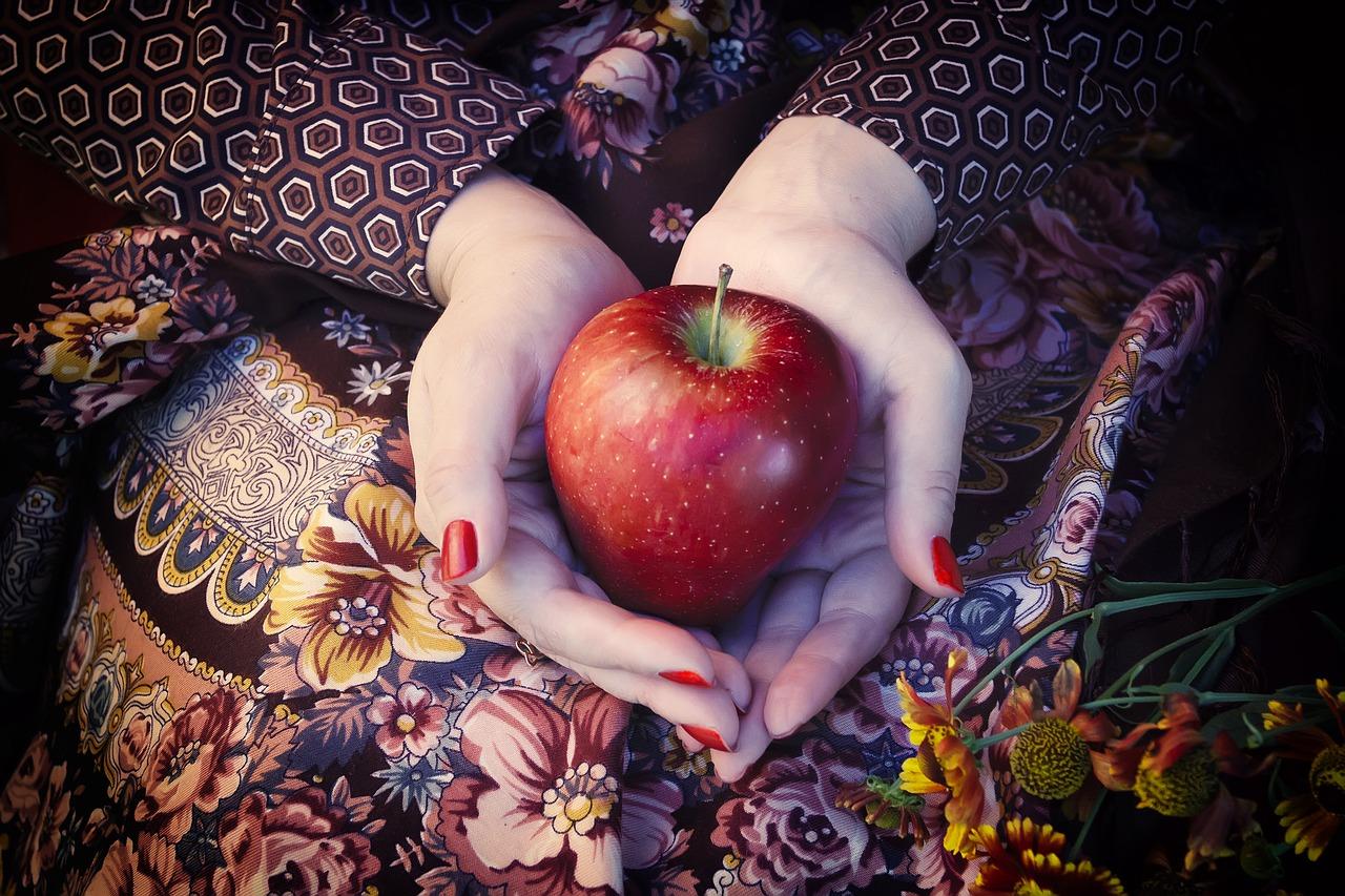 Jabłka czyli zdrowie z drzewa.